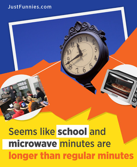 school and microwave