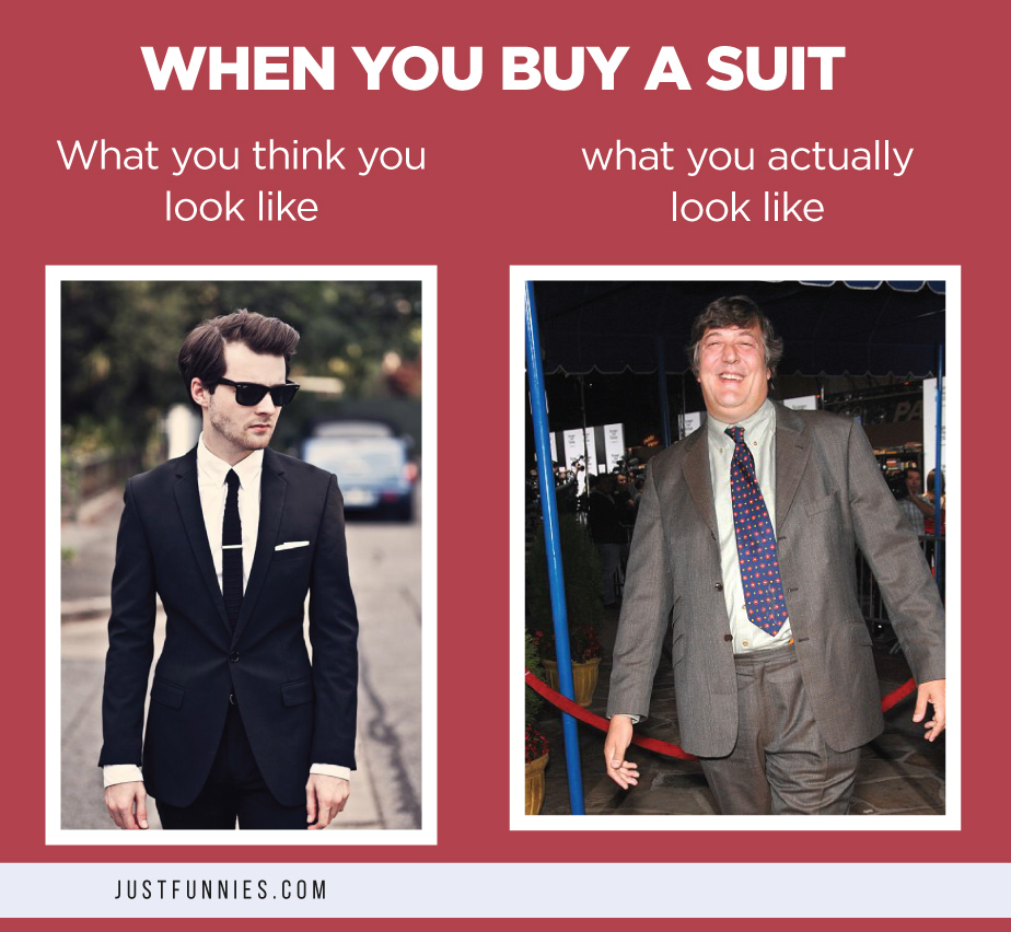 When You Buy A Suit